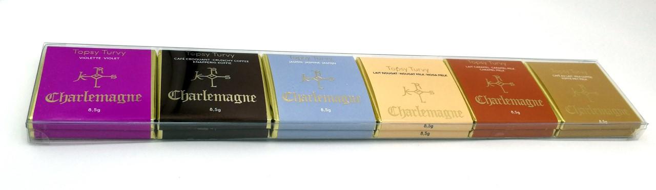 Assortiment de 12 chocolats (6 goûts)