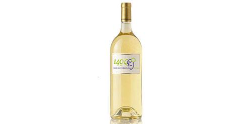 """Bouteille de vin blanc """"Merlot"""""""